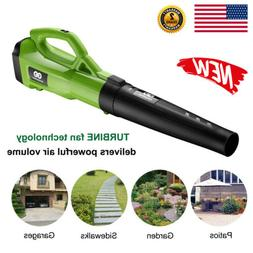 Turbine Powerful Leaf Blower Airflow Vacuum Sweeper 120MPH 4