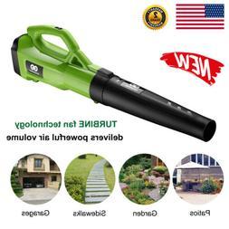 Turbine Powerful Leaf Blower Airflow Vacuum Sweeper 120MPH 4
