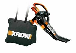 Worx WG505 Trivac Collection 3-in-1 Blower Mulcher And Vacuu