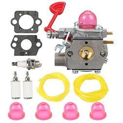 Butom WT-875 Carburetor+Fuel Line+Fuel Filter+Spark Plug for