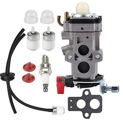 Butom WYA-79 Carburetor with Fuel Line Filter Grommet for Hu
