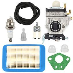 Butom WYK-192 Carburetor with Air Filter Tune Up Kit for Ech