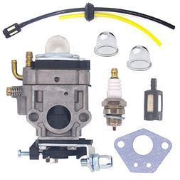 NIMTEK NEW WYK-74 Carburetor with Fuel Filer Spark Plug Fuel