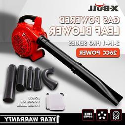 X-BULL Gasoline Leaf Blower Powered 26cc Vacuum Handheld Com