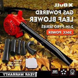 X-BULL Leaf Blower  2-Cycle Gas Powered Vacuum Handheld Comm