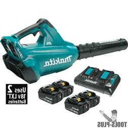 Makita XBU02PT1 Lithium-Ion Brushless Cordless Blower Kit wi