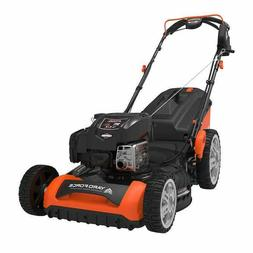 """Yard Force 21"""" Gas Mower with 20V Leaf Blower Lawncare Mowin"""