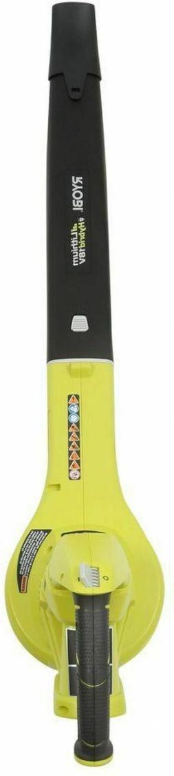 Ryobi ZRP2107 18V Cordless Lithium-Ion Hybrid Blower